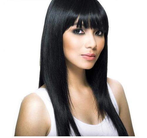 Păr lung și drept la modă în acest an, Foto: regineangeles.com