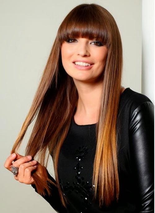 Părul lung și drept este la modă și în acest an, Foto: all-celebrity-hairstyle.blogspot.ro