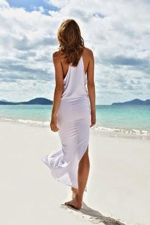 Rochie de plajă, Foto: lauralina.com