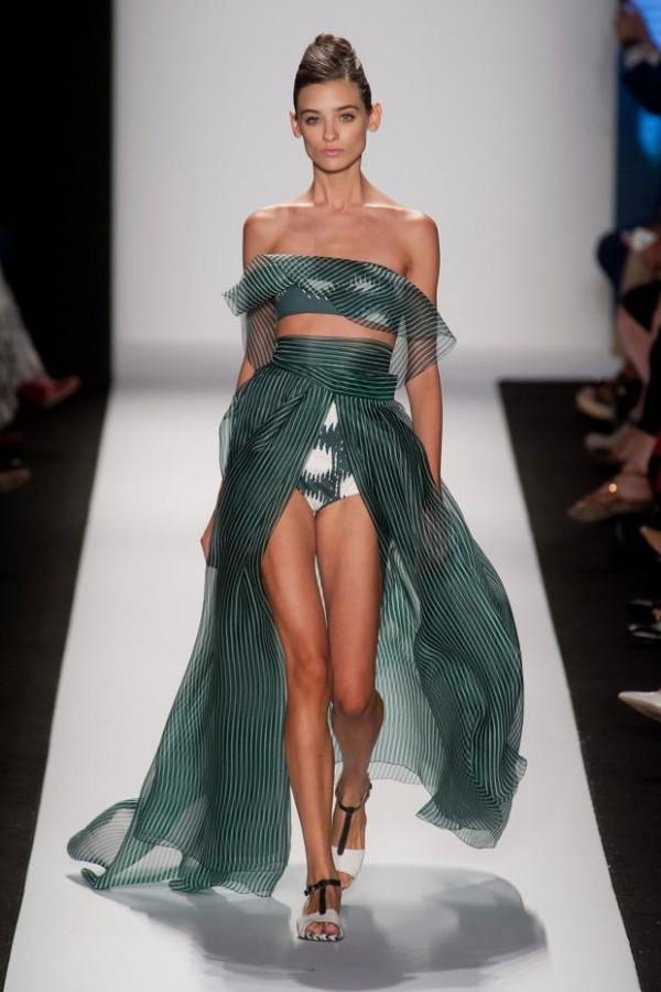 Rochie elegantă de vară, creație Carolina Herrera, Foto: fashionising.com