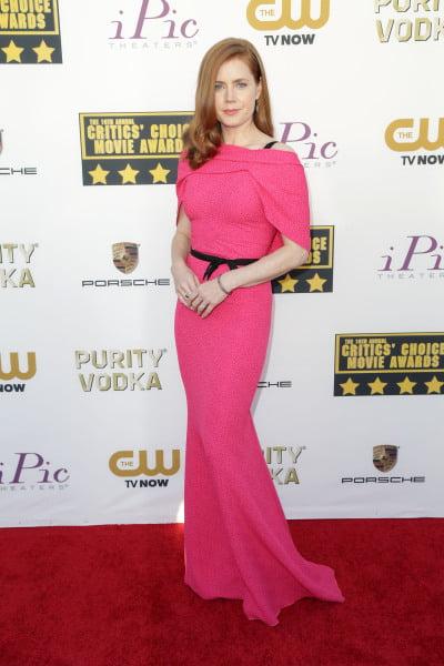 Rochie lungă deosebită la Amy Adams, Foto: moejackson.com