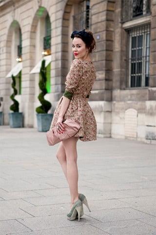 Rochie scurtă la modă în 2014, Foto: myfashiontricks.blogspot.ro