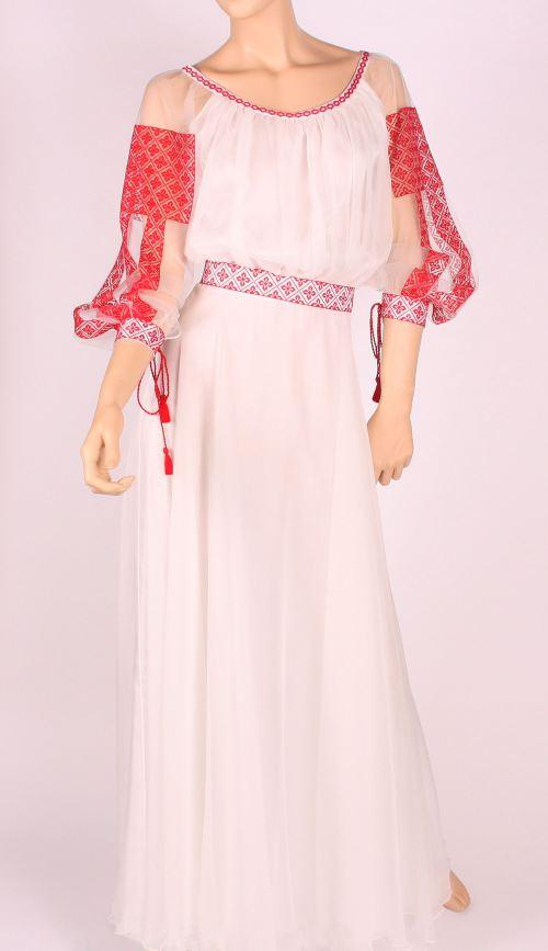 Rochie tradițională românească, Foto: costumepopulare.wordpress.com