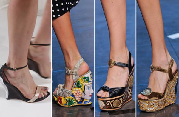 Sandale cu tocuri extravagante, Foto: queen-plus.com