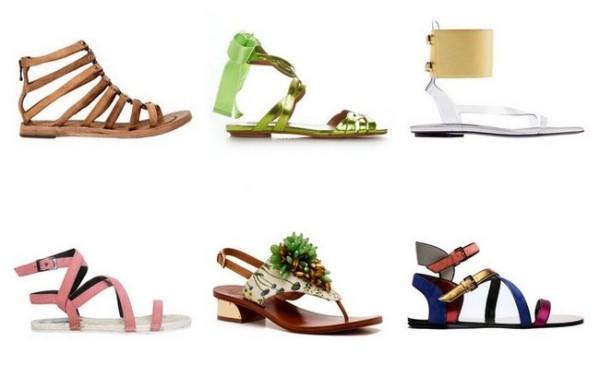 Sandale fără toc, Foto: kak-ya.ru