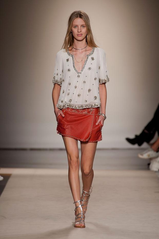 Tendințele în modă în vara anului 2014, colecția Isabel Marant, Foto: ceecdesign.blogspot.ro