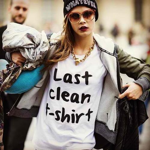 Tricou cu mesaj amuzant, Foto: weheartit.com