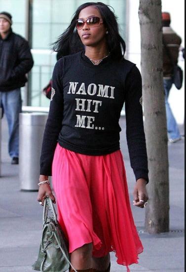 Tricou la Naomi Campbell, Foto: theglammaverick.wordpress.com