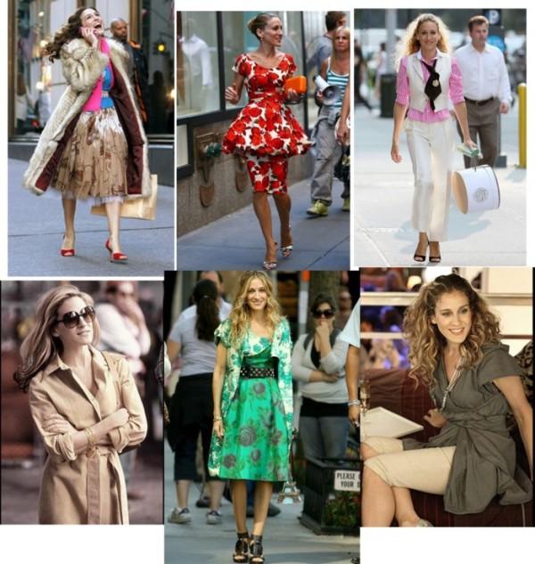 Ținute elegante la Carrie Bradshaw, Foto: funny-pictures.picphotos.net