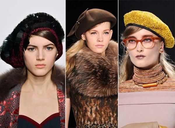 Berete în tendințele modei din 2014-2015, Foto: sapkatasarim.com