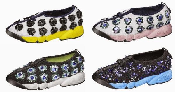 Adidași pentru femei, creație Dior, Foto: annecatherinefrey.blogspot.com