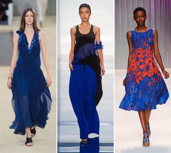 Albastru intens la modă în acest an, Foto: paseocoloradopasadena.com