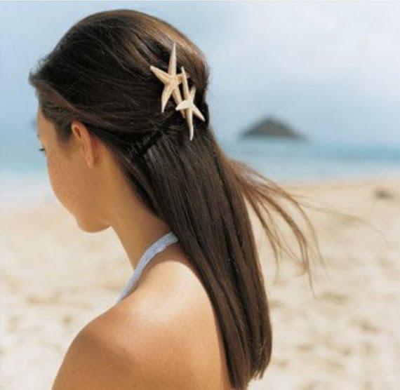 Coafură elegantă pentru plajă, Foto: inbeautystyle.blogspot.ro