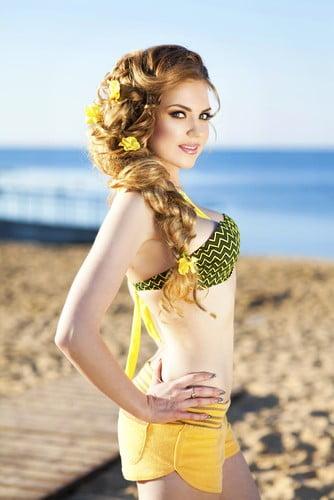 Coafură frumoasă pentru plajă, Foto: krasota.rozali.com