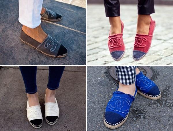 Espadrile Chanel de diferite culori, Foto: misslluviaconsol.blogspot.ro