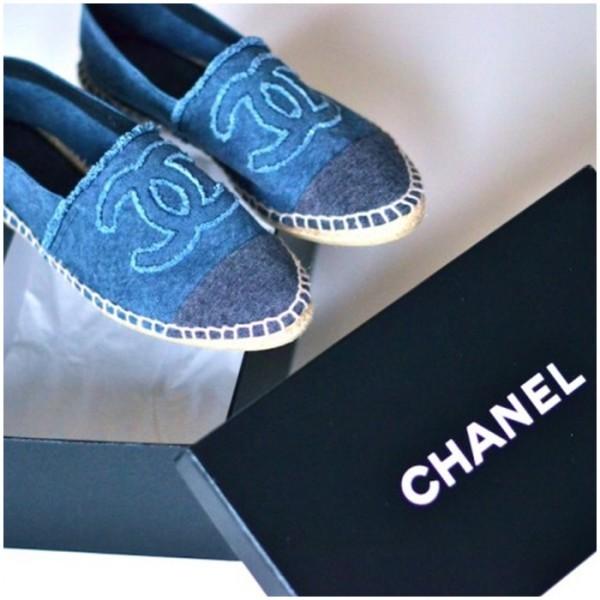 Espadrile Chanel la modă in această vară, Foto: estanochesoyunaprincesa.com