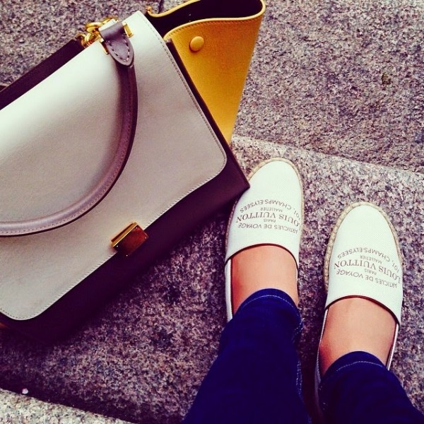 Espadrile Louis Vuitton, Foto: goldstein-goldstein.blogspot.ro