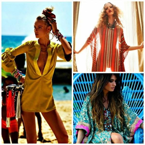 Modele de caftan în tendințele modei din acest an, Foto: bonjourfashionblog.com