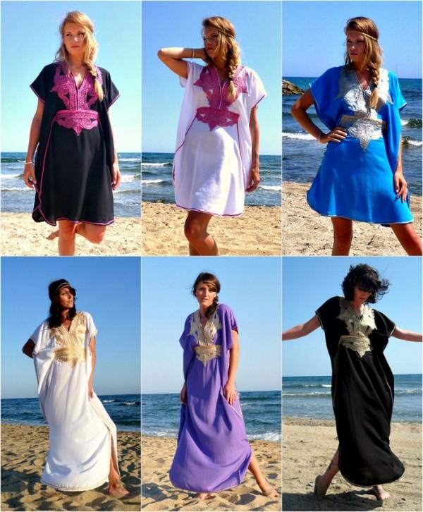 Modele de caftan la modă în această vară, Foto: thestellarboutique.com