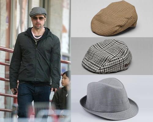 Pălării la Brad Pitt, Foto: article.wn.com