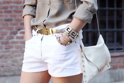 Pantaloni albi clasici pentru vară, Foto: fashionsshow.tumblr.com