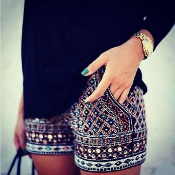 Pantaloni cu imprimeu interesant, Foto: missesdressy.com