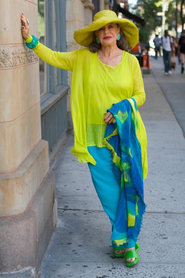 Poți fi elegantă la orice vârsta, Foto: advancedstyle.blogspot.ro