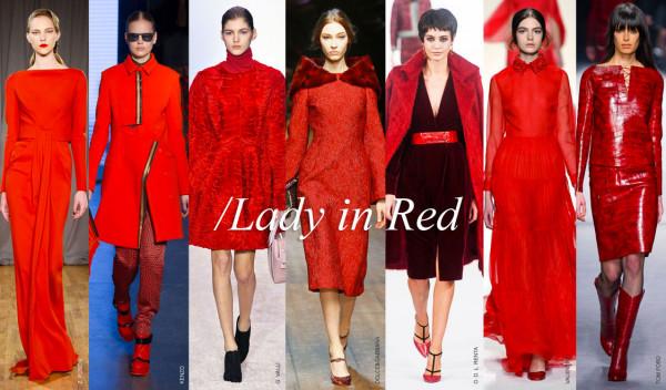 Roșu în tendințele modei din această toamnă, Foto: swide.com