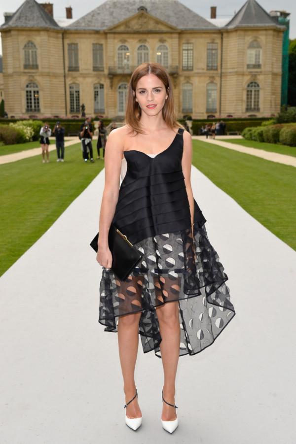 Rochie asimetrică la Emma Watson, Foto: entertainthis.usatoday.com