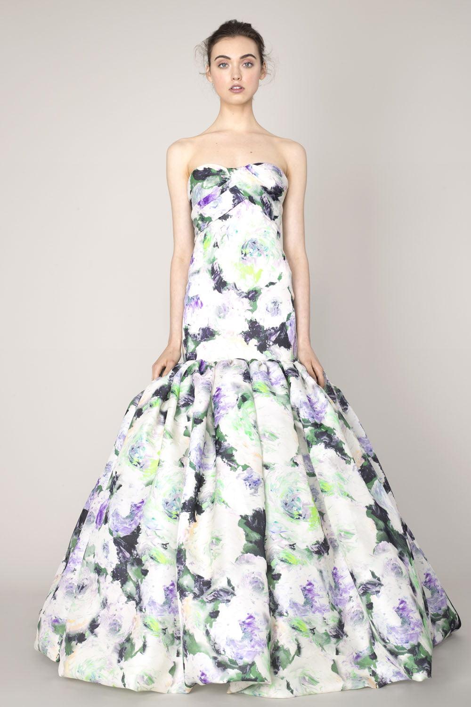 Rochie elegantă de ocazie, Foto: marchesa.com