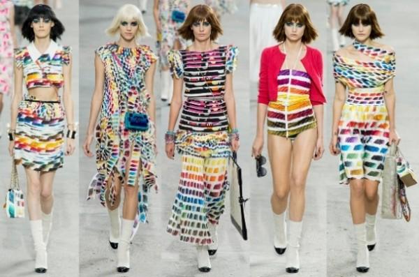 Moda în nuanțe curcubeu, Foto: lisamendedesign.blogspot.ro