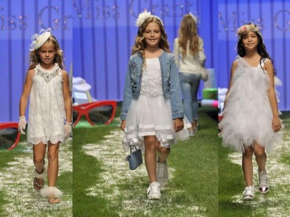 Rochii albe elegante pentru fetițe, Foto: gruvee.org