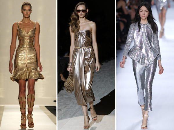 Rochii elegante în culori metalice, Foto: barbara-barbaras-stylingheaven.blogspot.ro