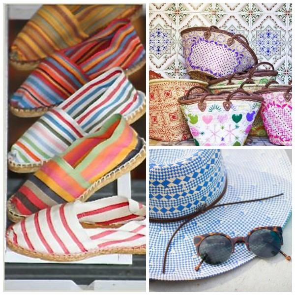 Tendințele modei din această vară, espadrile în dungi și accesorii asortate, Foto: palmbeach.thescoutguide.com
