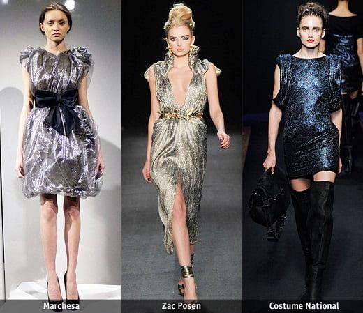 Texturi metalizate la modă în acest an, Foto: tvoyaizuminka.ru