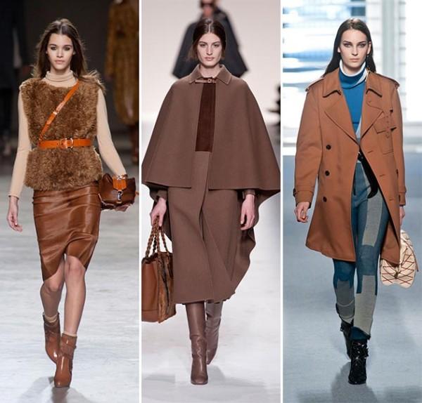 Cognat Brown - Culoare trendy în toamna 2014, Foto: zenstvena.com