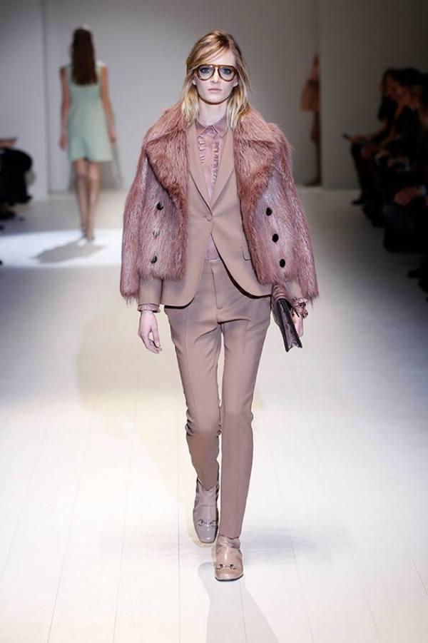 Colecția Gucci din toaman-iarna 2014-2015, Foto: fashionavecpassion.com
