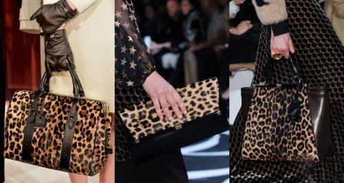 Genți cu imprimeu tip leopard, Foto: pimood.com