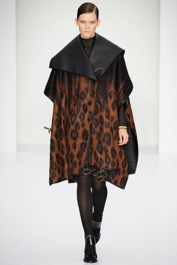 Haină din piele elegantă, Foto: wardrobelooks.com