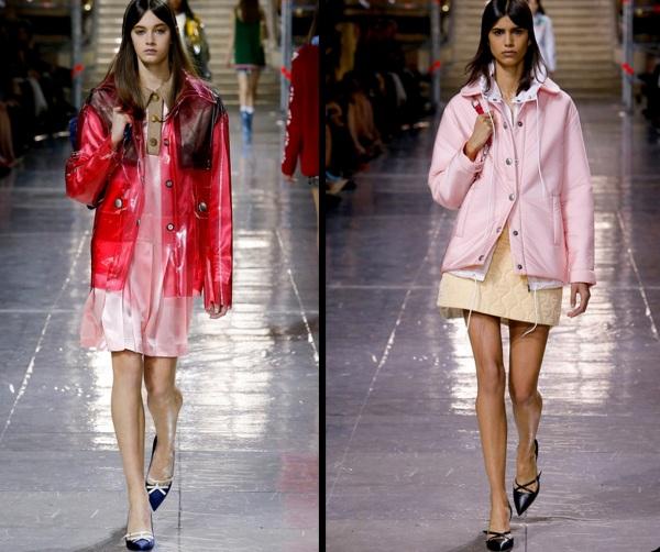 Haine de ploaie la modă în toamna anului 2014, Foto: vanityvintageallure.files.wordpress.com