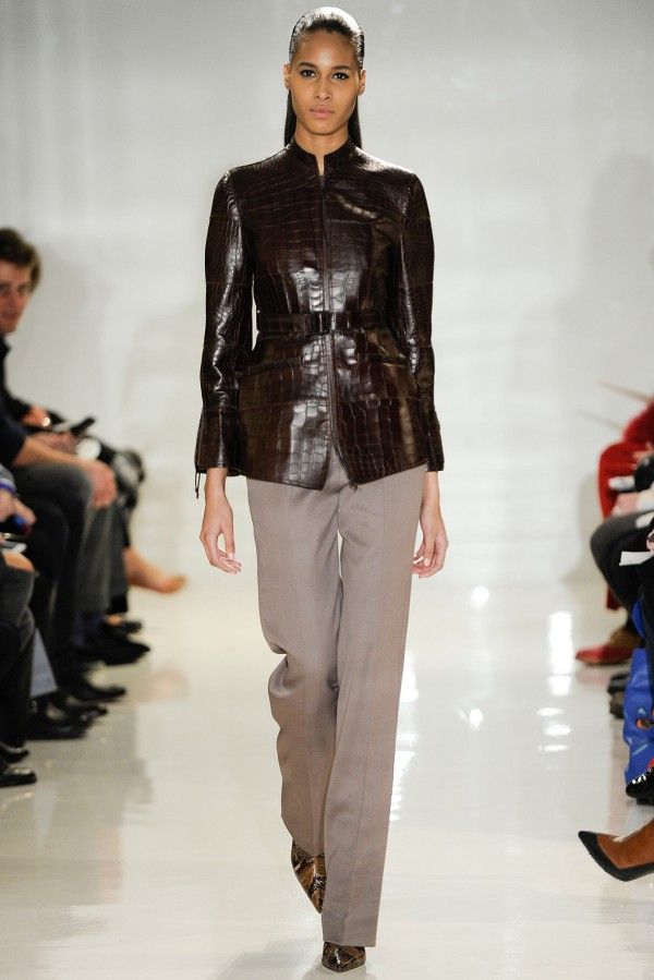 Jachetă din piele marca Ralph Rucci, Foto: thebestfashionblog.com