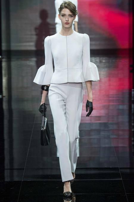 Mănuși subțiri din piele marca Armani Privé, Foto: fashionsizzle.com