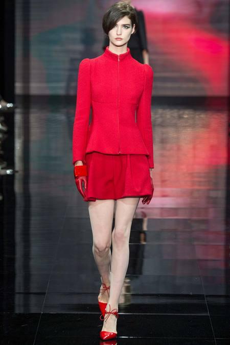 Moda Armani Privé din toamna anului 2014, Foto: fashionsizzle.com