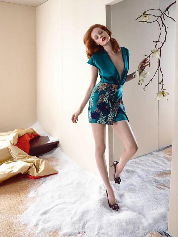 Moda Blumarine din toamna-iarna 2014-2015, Foto: nawo.com