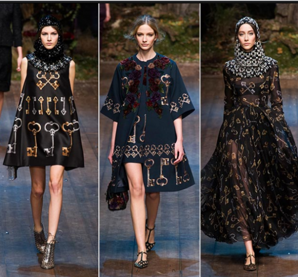 Moda Dolce&Gabbana inspirată din Evul Mediu, Foto: queen-plus.com