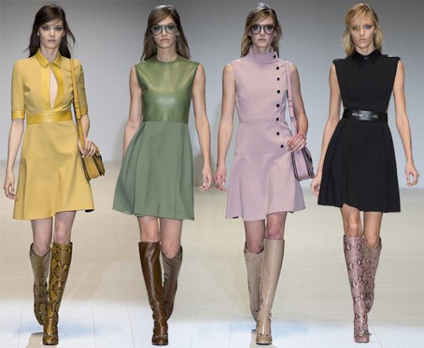 Moda Gucci pentru toamna anului 2014, Foto: fashionavecpassion.com