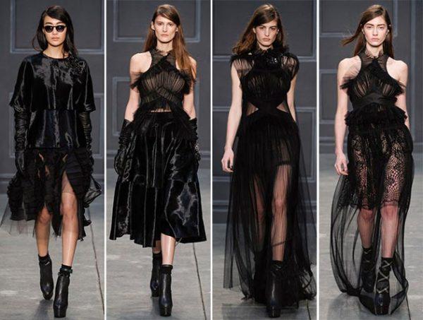 Moda Vera Wang pentru sezonul de toamnă-iarnă 2014-2015, Foto: fashionisers.com