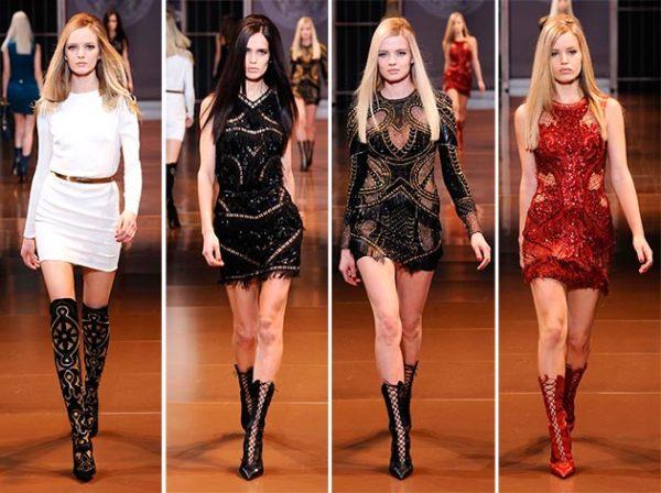 Moda Versace din toamna-iarna 2014-2015, Foto: glamourgirl.ro