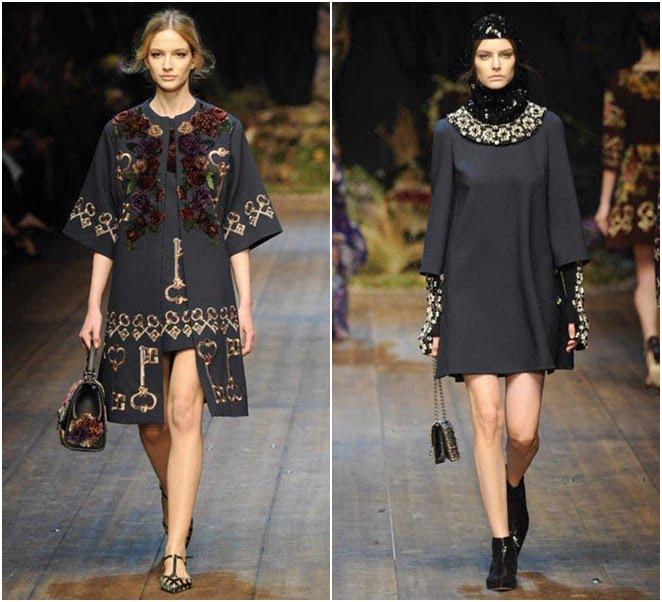 Moda din 2014-2015 la brand-ul Dolce&Gabbana, Foto: jetsetter.ua