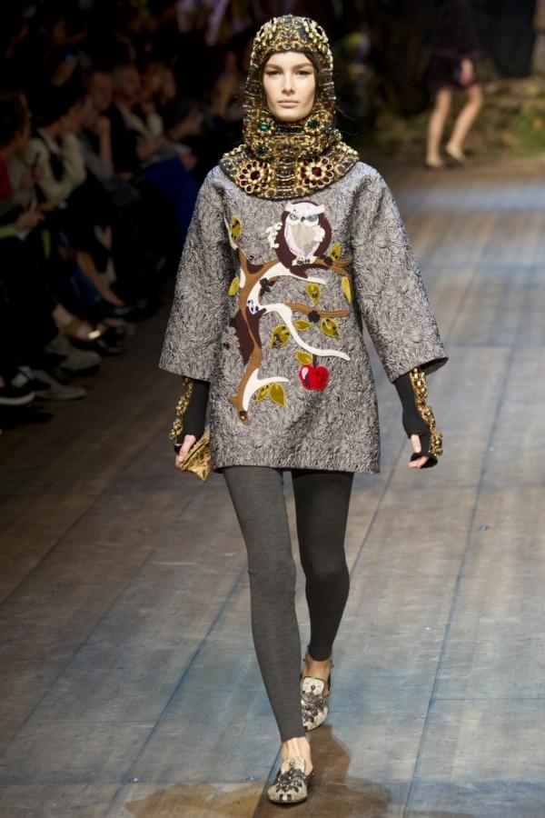 Moda din această toamnă la Dolce&Gabbana, Foto: olga-bubel.livejournal.com
